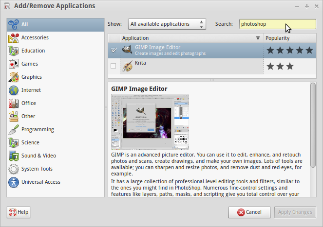 purism-add-remove-alternative-applications-gimp