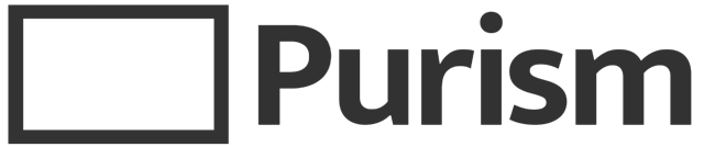 Purism Logo with Text Large