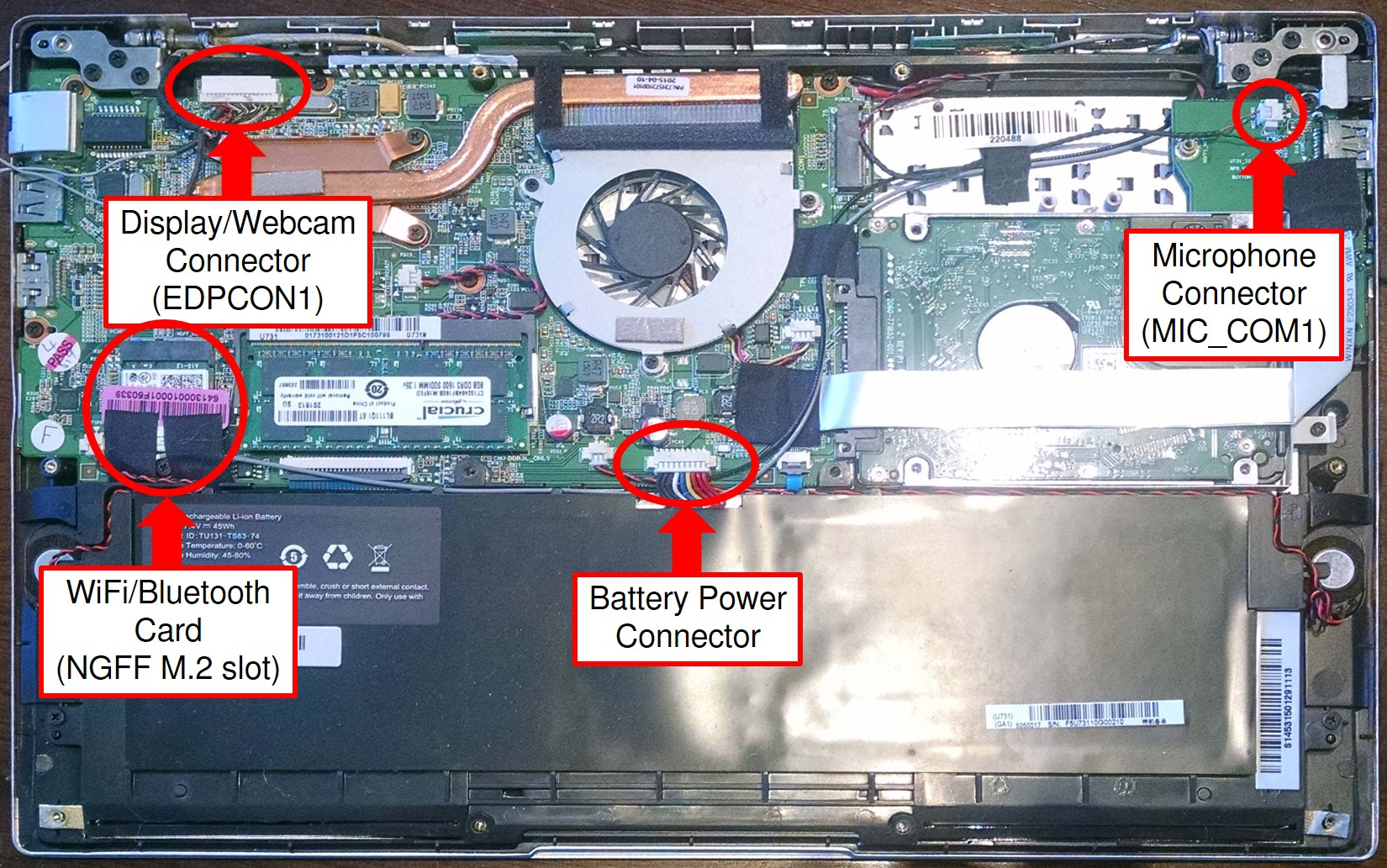 Hard Not Soft Kill Switches Purism Laptop Webcam Wiring Diagram Librem 13 Motherboard With Lables