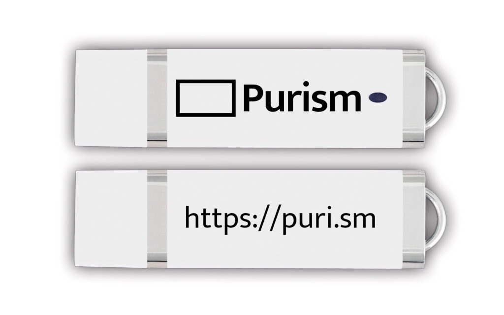 Purism USB Flash Drive