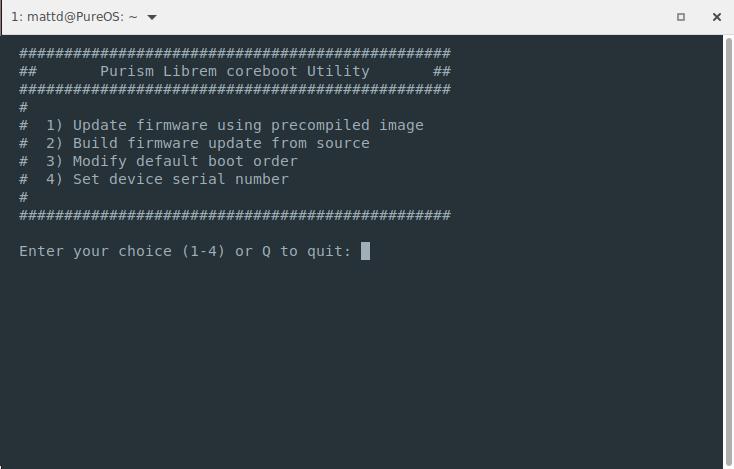 Coreboot Utility