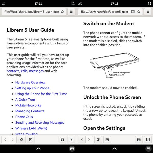 Librem 5 October 2019 Software Update, Next TGP