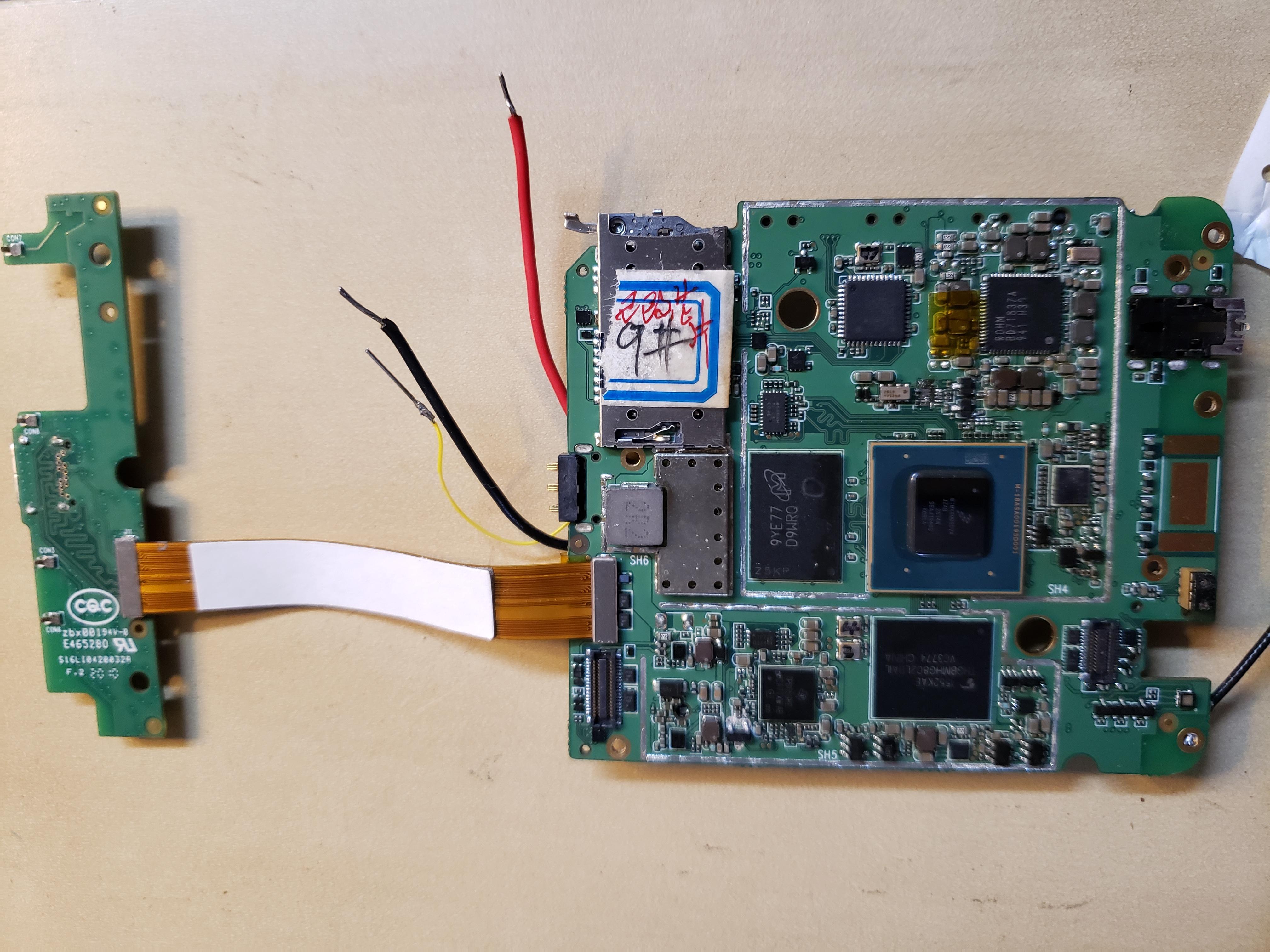 Dogwood PCB CPU side up